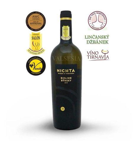 Ryzlink rýnský 2015 D.S.C., jakostní víno, suché, 0,75 l