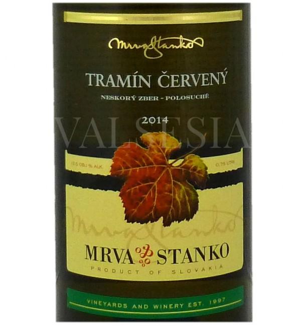 Mrva & Stanko Tramín červený - Čachtice 2014, neskorý zber, polosuché, 0,75 l