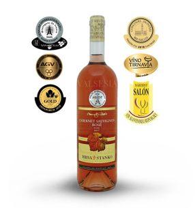 Cabernet Sauvignon rosé 2017, jakostní víno, suché, 0,75 l