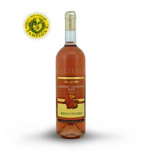 Cabernet Sauvignon rosé - Mojmírovce 2016, jakostní víno, polosuché, 0,75 l
