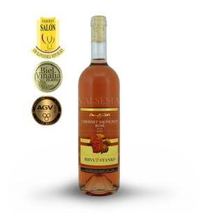 Cabernet Sauvignon rosé - Vinodol 2016, jakostní víno, suché, 0,75 l