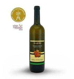 Chardonnay - Čachtice 2015, pozdní sběr, suché, 0,75l