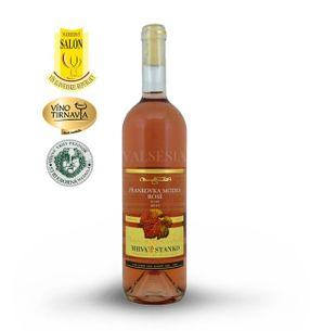 Frankovka modrá rosé - Vinodol 2016, jakostní víno, suché, 0,75 l