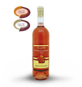 Frankovka modrá rosé - Vinodol 2017, jakostní víno, suché, 0,75 l