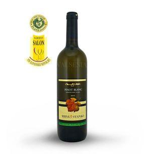 Pinot Blanc (Rulandské bílé) 2015, pozdní sběr, suché, 0,75 l