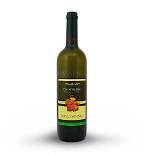 Pinot Blanc (Rulandské bílé) - Kosihovce 2015, výběr z hroznů, suché, 0,75 l