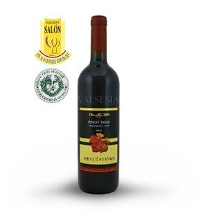 Pinot Noir (Rulandské modré) - Čachtice 2015, výběr z hroznů, suché, 0,75 l