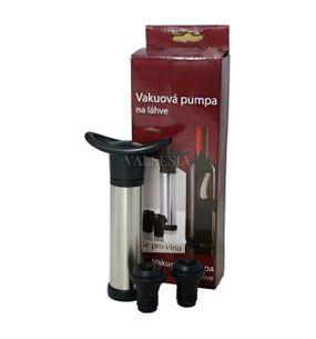 Vakuová pumpa na víno + 2 uzávěry