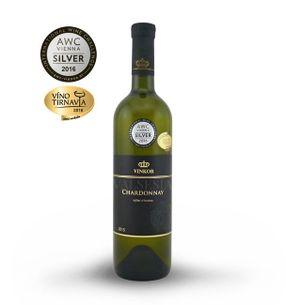Chardonnay 2015, výběr z hroznů, suché, 0,75 l