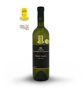 Pinot blanc (Rulandské bílé) 2015, výběr z hroznů, polosuché, 0,75 l