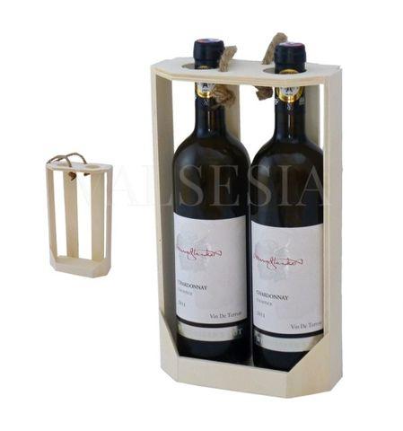 Nosič na 2 láhve vína